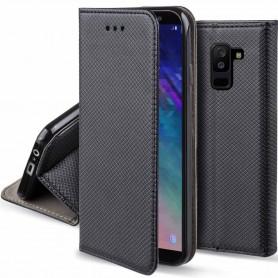 Moozy Smart Magnet FlipCase Samsung Galaxy A6 PlusPlus 2018 mobilskal