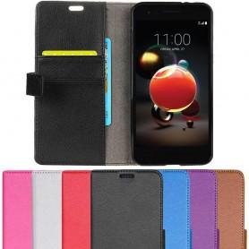 Mobilplånbok 2-kort LG K8 2018 fodral mobilskal