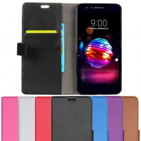 Mobilplånbok 2-kort LG K10 2018 mobilskal fodral skydd caseonline