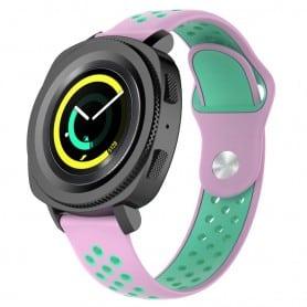 EBN Sport Armband Samsung Gear Sport - rosa/grön
