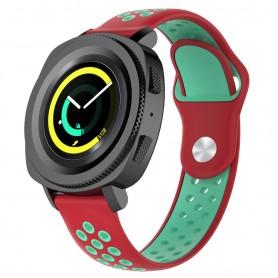 EBN Sport Armband Samsung Gear Sport - röd/grön