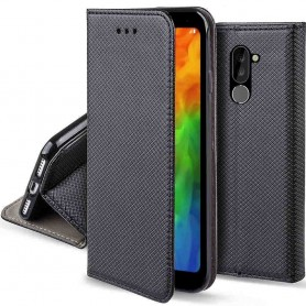 Moozy Smart Magnet FlipCase LG Q7 mobilskal