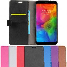 Mobilplånbok 2-kort LG Q7 mobilskal fodral
