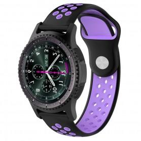 EBN Sport Armband Samsung Gear S3 Svart/lila