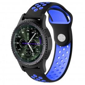EBN Sport Armband Samsung Gear S3 Svart/blå