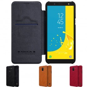 Nillkin Qin FlipCover Samsung Galaxy J6 2018 mobilskal fodral