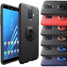 Slim Ring Case Samsung Galaxy A6 2018 selfiering mobilskal skydd
