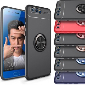 Slim Ring Case Huawei Honor 9 mobilskal selfiering