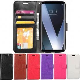 Mobilplånbok 3-kort LG V30 mobilskal fodral