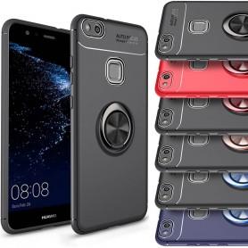 Slim Ring Case Huawei P10 Lite mobilskal selfiering