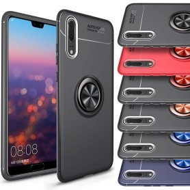 Slim Ring Case Huawei P20 Pro mobilskal selfiering bilhållare