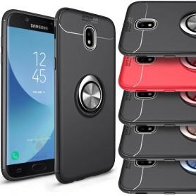 Slim Ring Case Samsung Galaxy J7 2017 mobilskal selfiering