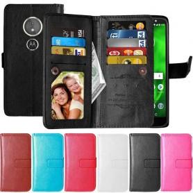 Dubbelflip Flexi 9-kort Motorola Moto G6 Play mobilskal fodral