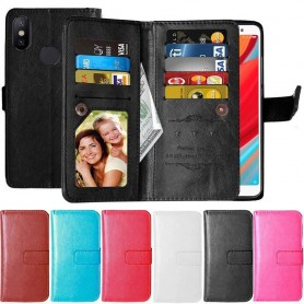 Dubbelflip Flexi 9-kort Xiaomi Redmi S2 mobilskal fodral plånbok