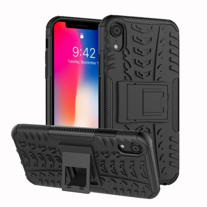 """Stöttåligt skal med ställ Apple iPhone XR (6.1"""") silikonskal mobilskal"""