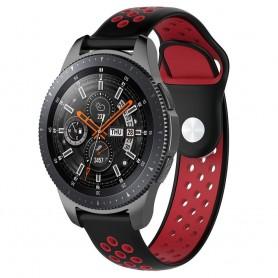 EBN Sport Armband Samsung Galaxy Watch 46mm-Svart/röd