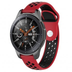 EBN Sport Armband Samsung Galaxy Watch 46mm-Röd/svart