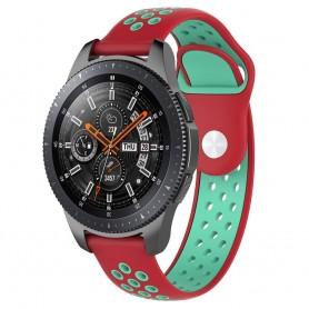 EBN Sport Armband Samsung Galaxy Watch 46mm-Röd/mint