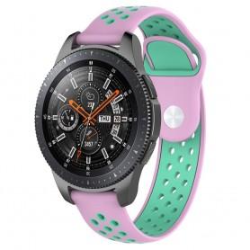 EBN Sport Armband Samsung Galaxy Watch 46mm-Rosa/mint