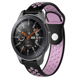 EBN Sport Armband Samsung Galaxy Watch 46mm-Svart/rosa