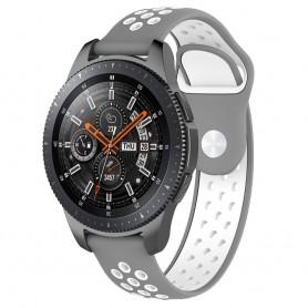 EBN Sport Armband Samsung Galaxy Watch 46mm-Grå/vit