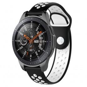 EBN Sport Armband Samsung Galaxy Watch 46mm-Svart/vit