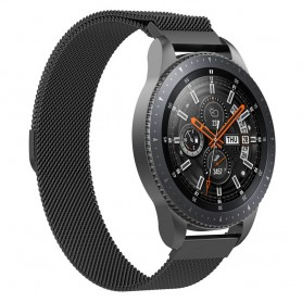 Milanese RSF stål Armband Samsung Galaxy Watch 46mm-Svart