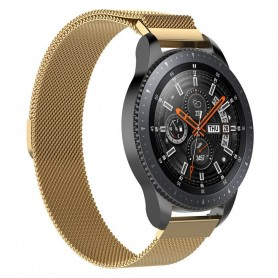 Milanese RSF stål Armband Samsung Galaxy Watch 46mm-Guld