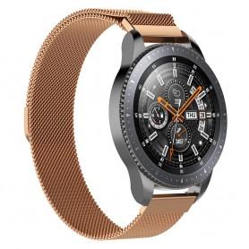 Milanese RSF stål Armband Samsung Galaxy Watch 46mm-Rosè