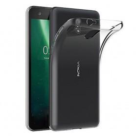 Nokia 2.1 2018 Silikon skal Transparent mobilskal