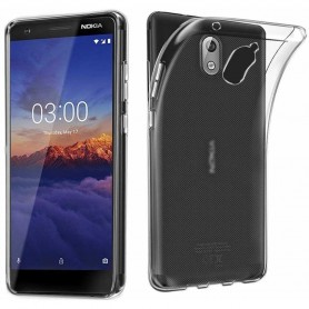 Nokia 3.1 2018 Silikon skal Transparent mobilskal