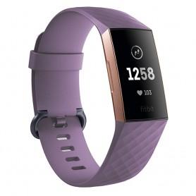 Sport Armband till Fitbit Charge 3 - Lila klockarmband