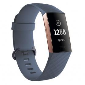 Sport Armband till Fitbit Charge 3 - Gråblå