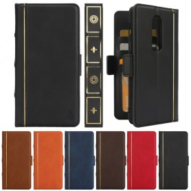 Retro Book Wallet 2i1 OnePlus 6 (A6000)