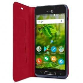 Doro 8035 FlipCover - Röd