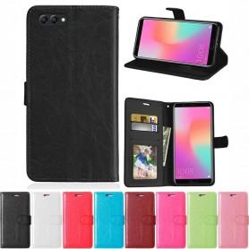 Mobilplånbok 3-kort Huawei Honor View 10 mobilskal fodral