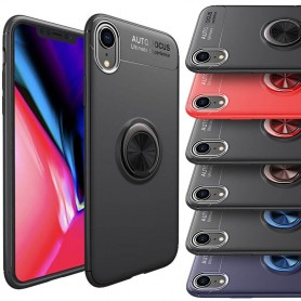"Slim Ring Case Apple iPhone XR (6,1"") mobilskal caseonline"
