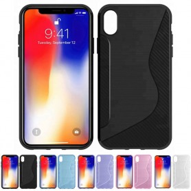 "S Line silikon skal Apple iPhone XR (6.1"") mobilskal caseonline"