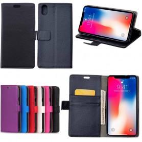 Mobilplånbok 2-kort Apple iPhone XS Max mobilskal fodral caseonline