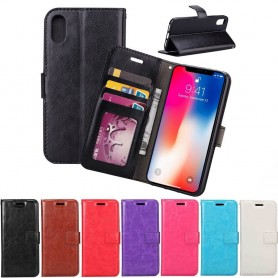 Mobilplånbok 3-kort Apple iPhone XS Max ställ sedel silikon ram CaseOnline