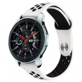 EBN Sport Armband Samsung Galaxy Watch 46mm-Vit/svart