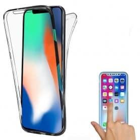 360 heltäckande silikon skal Apple iPhone XS Max mobilskal skydd