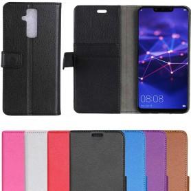 Mobilplånbok 2-kort Huawei Mate 20 Lite fodral väska mobilskal skydd