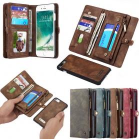 Multiplånbok 11 kort Apple iPhone 7 Plus / 8 Plus mobilskal fodral väska myntfack