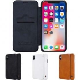 Nillkin Qin FlipCover Apple iPhone XS Max flipfodral mobilskal