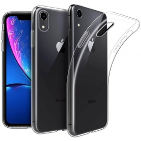 "Apple iPhone XR 6.1"" Silikon skal Transparent mobilskal"