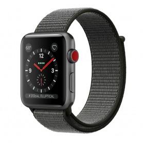 Apple Watch 42mm Nylon Armband - Mörk Oliv