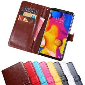 Mobilplånbok 3-kort LG V40 ThinQ fodral skydd caseonline