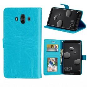 Mobilplånbok 3-kort Huawei Mate 10 - Blå