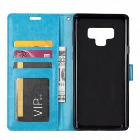 Mobilplånbok 3-kort Samsung Galaxy Note 9 - Blå